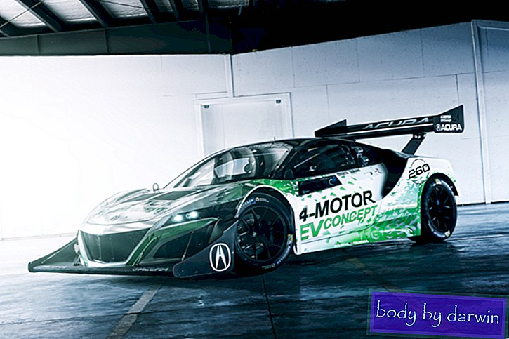 Electric NSX võtab Pikes Peak-Speed ​​Lab